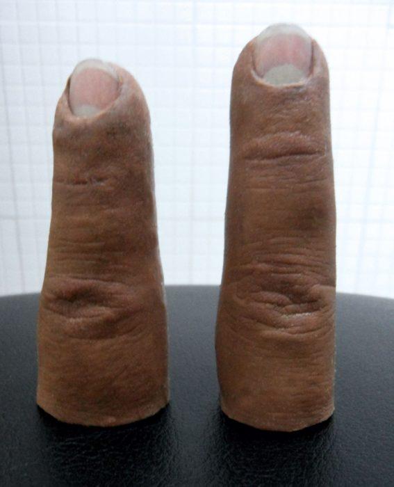 Prótesis de silicona para dedo índice y medio * MG