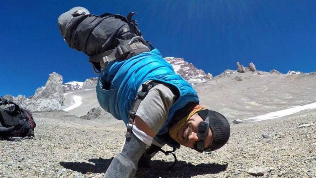 Kyle Maynard montañista amputacion cuatro miembros * Prótesis MG