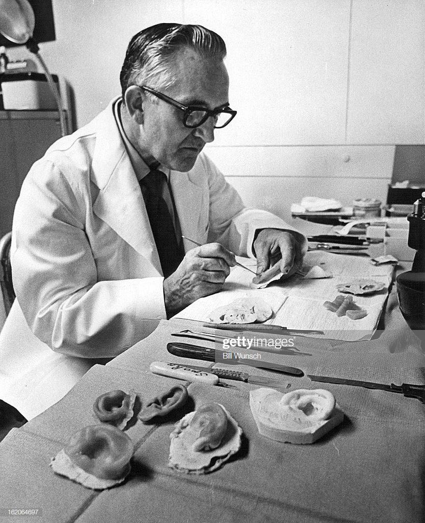 Walter G. Spohn 1972 Creador de la IAA * Prótesis MG