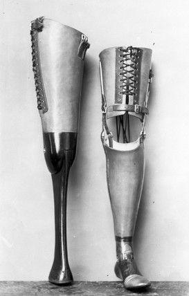 Prótesis para pierna 1890-1910 * MG