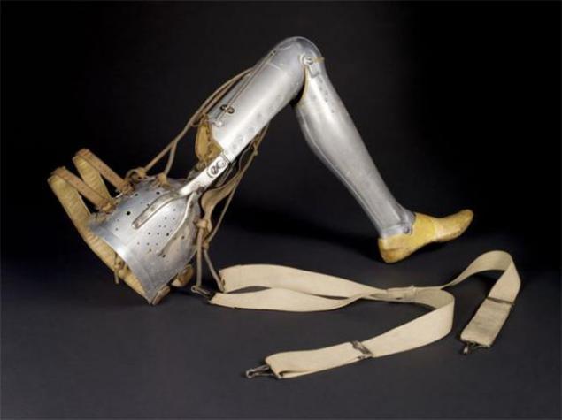 Prótesis pierna completa edad media * MG