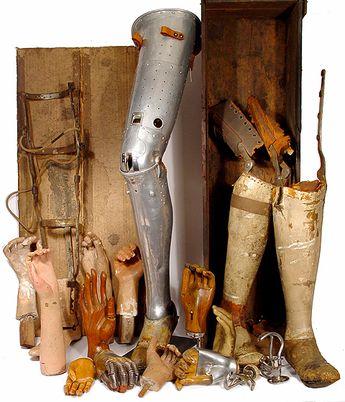 Prótesis antiguas * MG