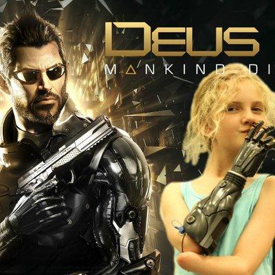 Prótesis inspiradas Deus Ex Mankind Divided