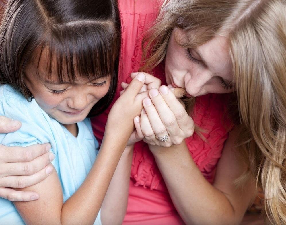 Cuidado y protección de los padres