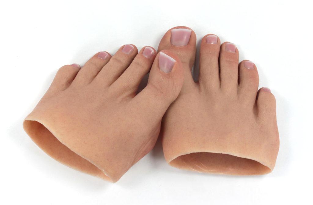 Prótesis para los pies MG * Relleno por amputación parcial del pie