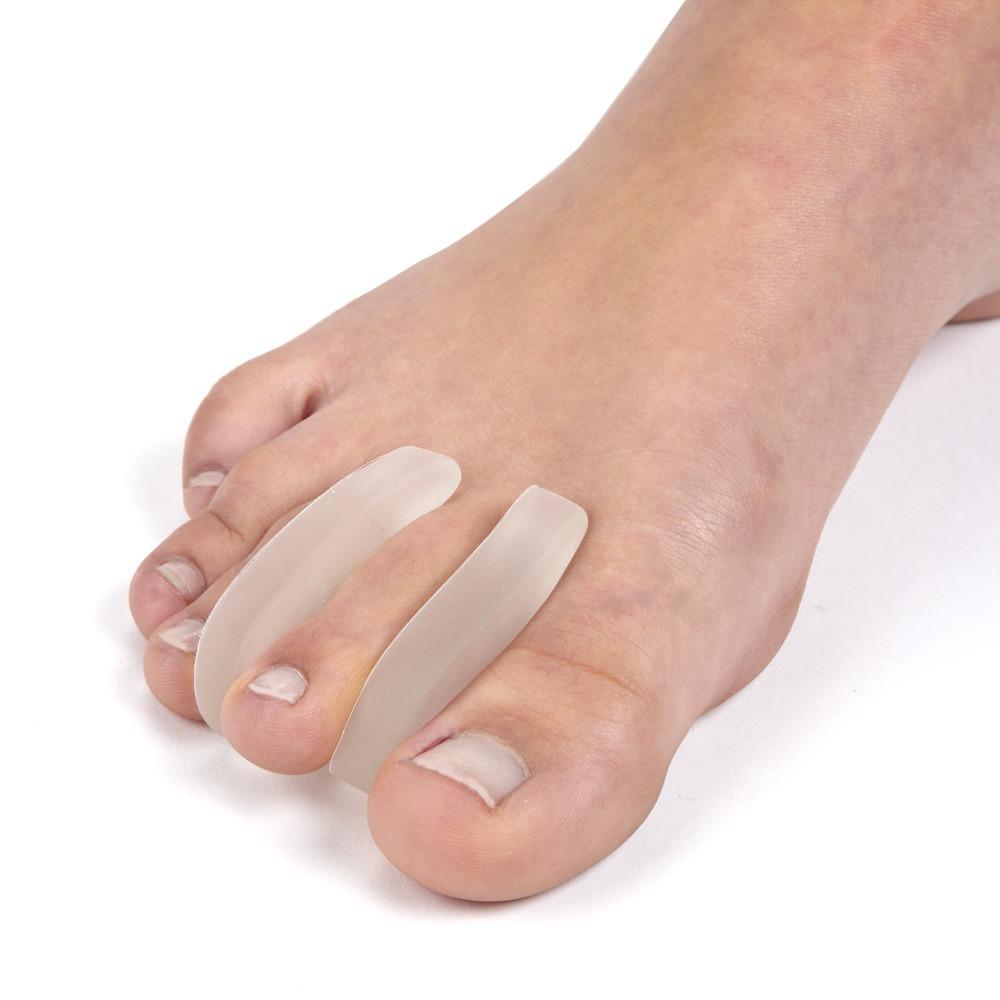 Separadores ortopédicos de silicona para dedos